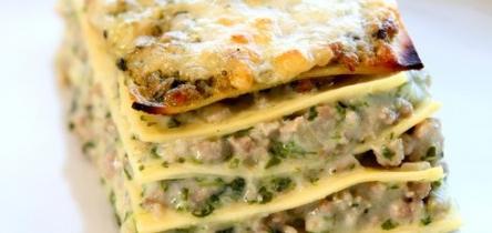 Parajos lasagne marhahússal