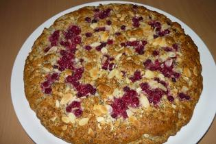 Mákos-ribizlis süti