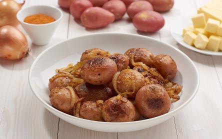 Hagymás pirított újkrumpli