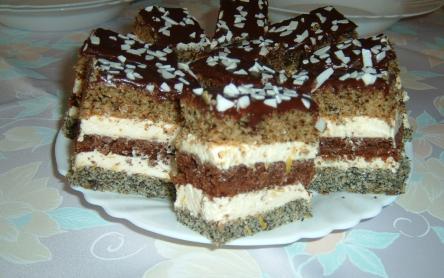 Csíkos süti