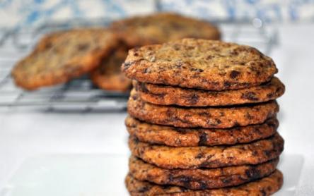 Keksz csokidarabkákkal