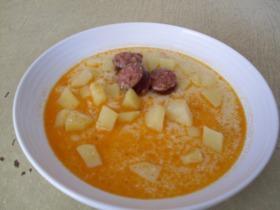 Habart krumpli leves