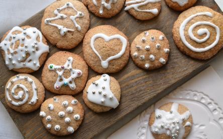 Mézeskalács cookie