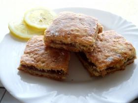 Almás-citromos-mazsolás pite