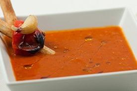 Mediterrán paprika leves