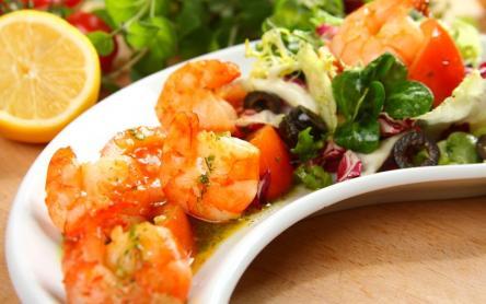 Garnéla saláta