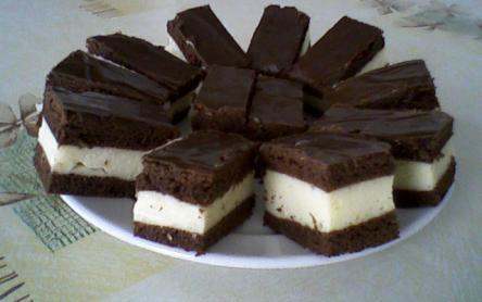 Tejkrémes csokoládészelet