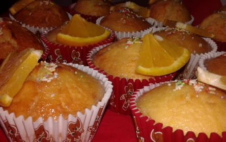Laktózmentes joghurtos citrommuffin