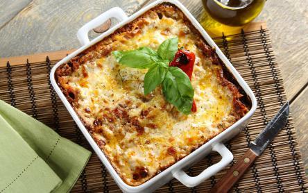 Klasszikus húsos lasagne