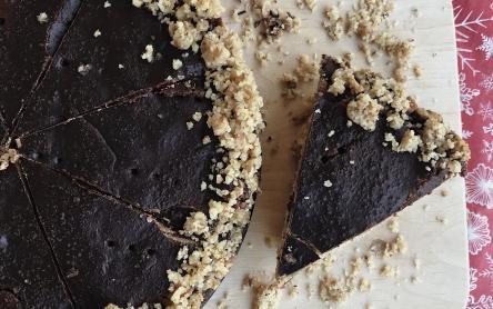 Laktózmentes zserbó torta
