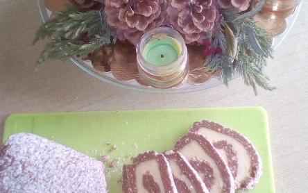 Laktózmentes keksztekercs