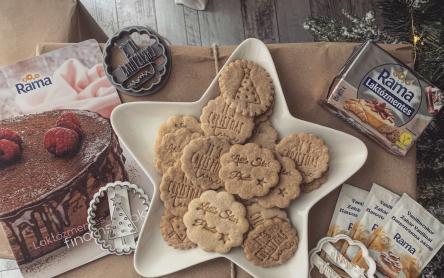 Laktózmentes karácsonyi keksz