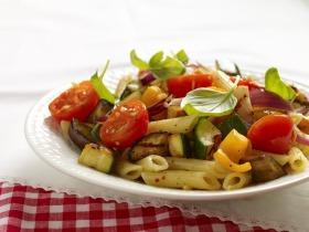Ratatouille-s tészta saláta