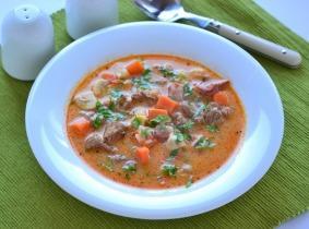 Húsvéti bárányragu leves