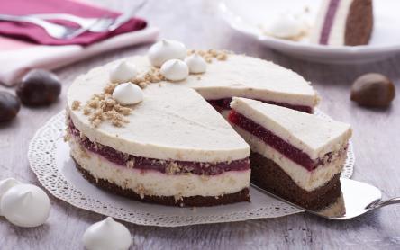 Gesztenye mousse torta