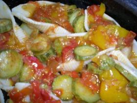 Zöldséges tésztakagylók