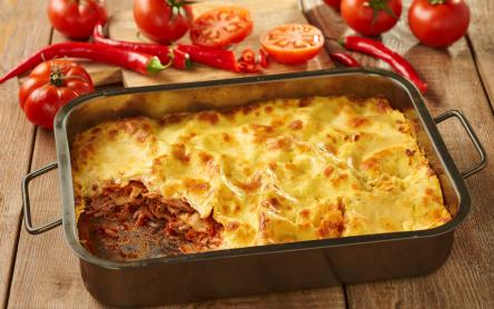 Chilis, tonhalas lasagne