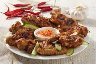 Thai csirkeszárnyak