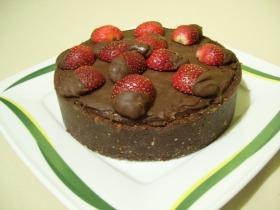 Epres-kekszes csokitorta