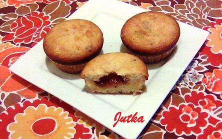 Lekváros muffin