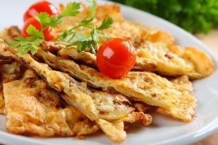 Spanyol tapas: mini tortilla
