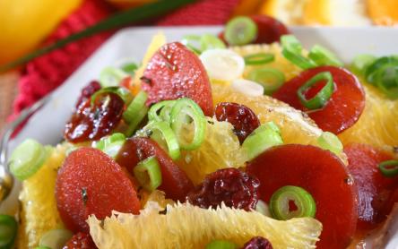 Francia színes saláta