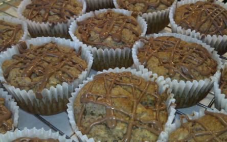 Diós-almás muffin (cukor és lisztmentes)