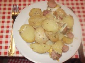 Könnyű rakott krumpli