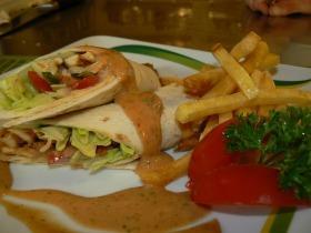 Csirkemell kebab