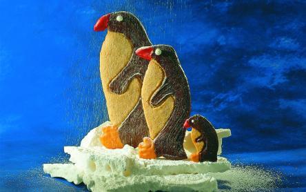 Pingvinfigurák