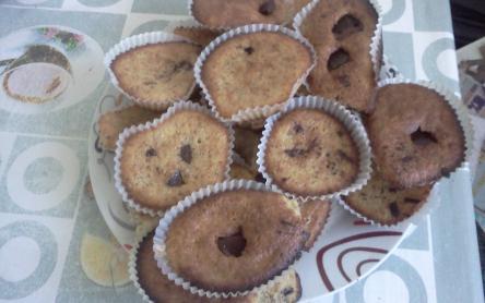 Gluténmentes csokis muffin