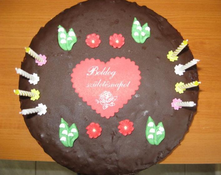 Nagyon finom csokitorta