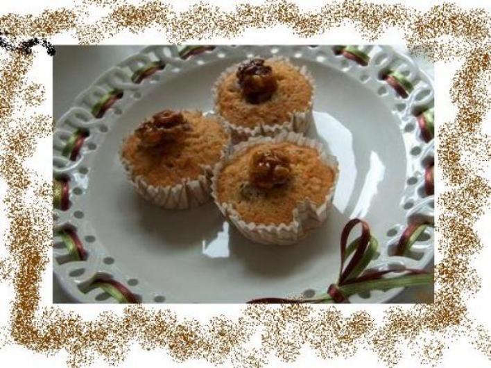 Körtés-mézes muffin