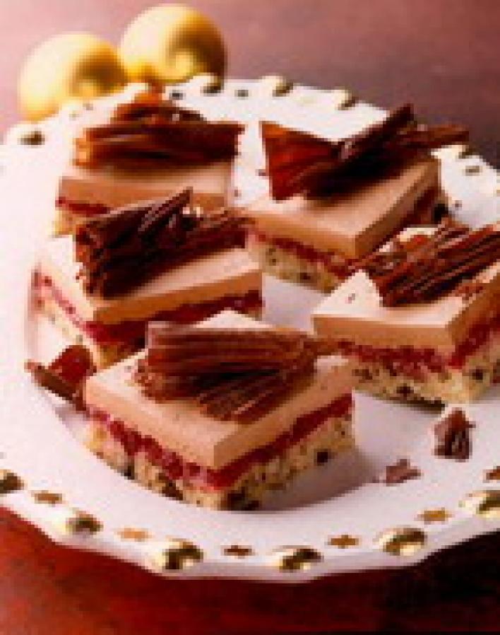 Csokoládés konyak szelet