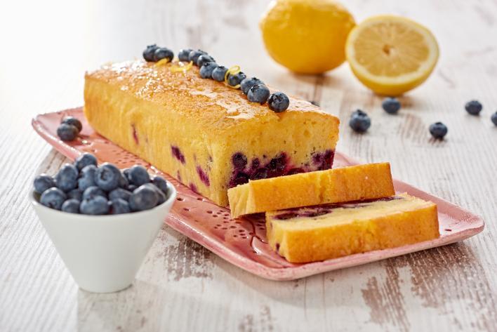 Áfonyás citromos sütemény