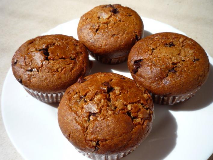 Pudingos rozsos muffin