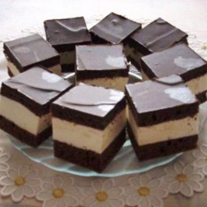 Csokis-tejszínes sütemény