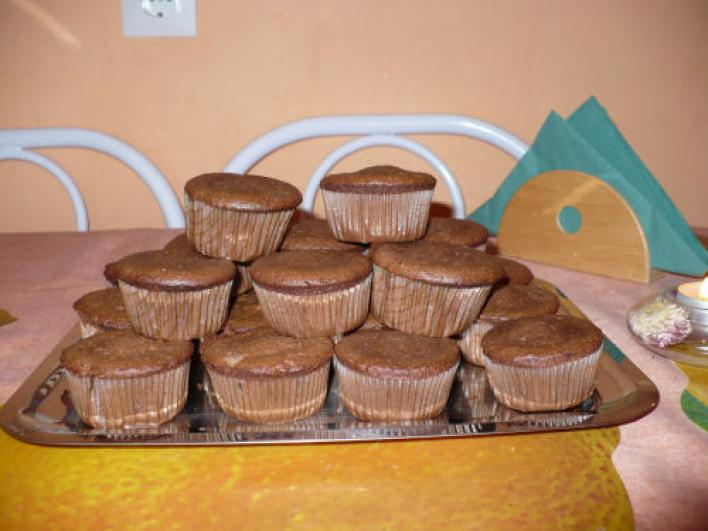 Csokis muffin, új