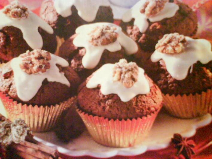 Illatos karácsonyi muffin