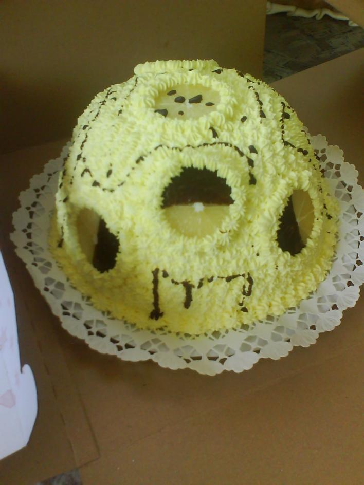 Citromos álom torta