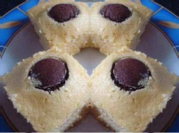 Túrósgolyós sütemény