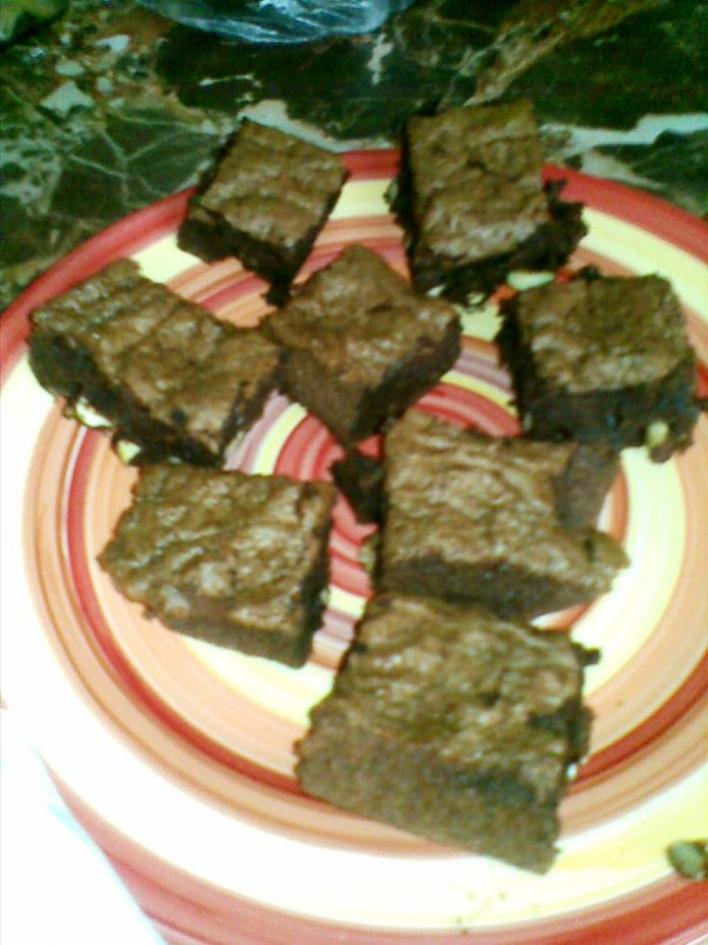 Csokis-mogyorós süti