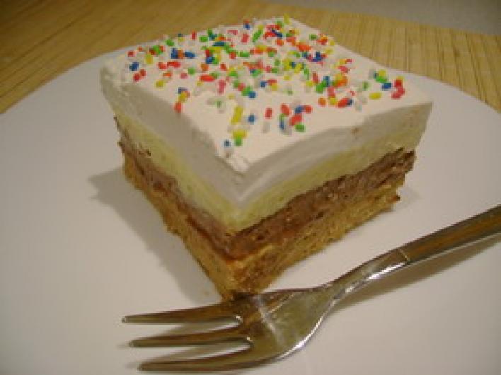 Csokis-kekszes torta