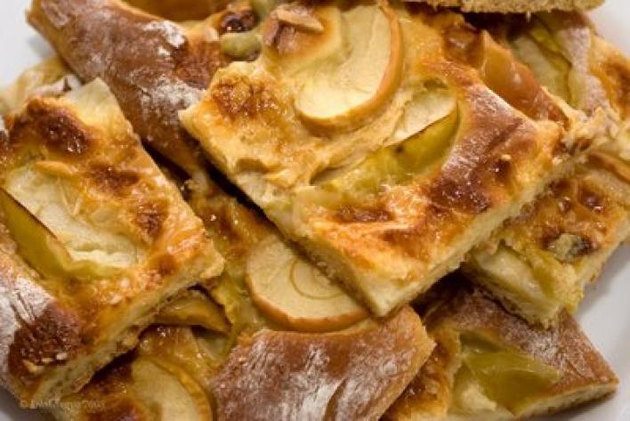 Fűszeres, almás lepény