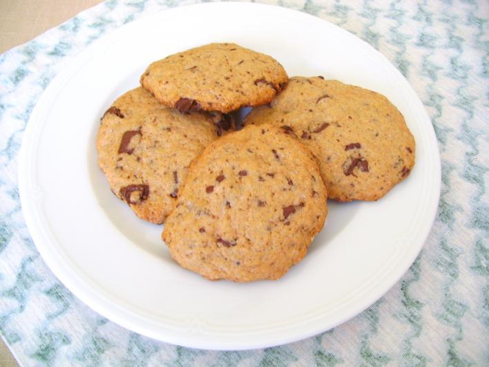 Fahéjas-csokis keksz