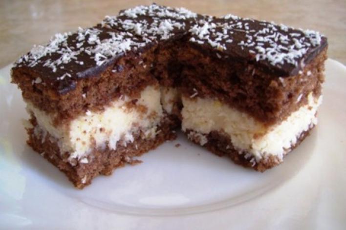 Csokimázas kókuszkocka