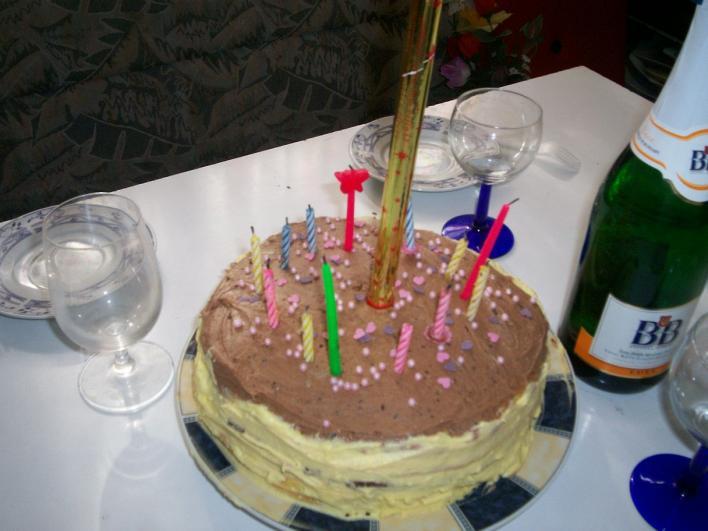Kétszínű torta