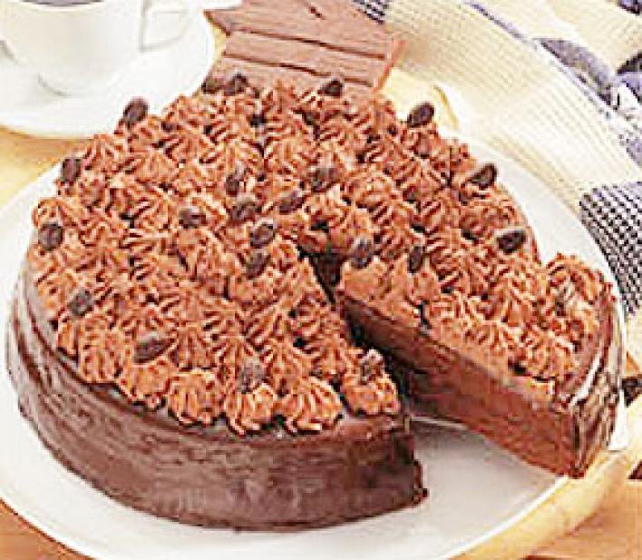 Tejszíncsókos torta