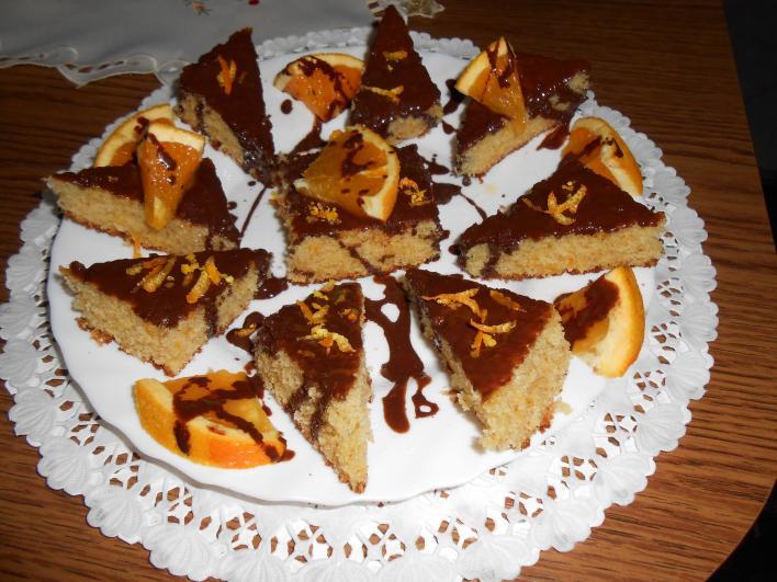 Narancsos, kevert sütemény