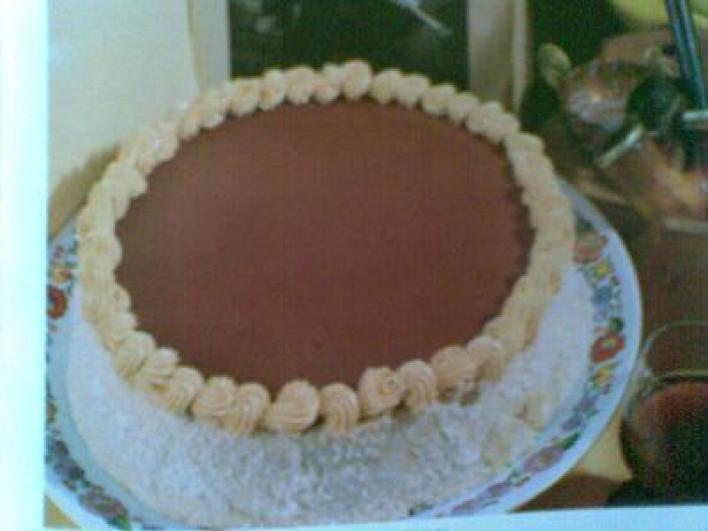 Kávékrémes torta